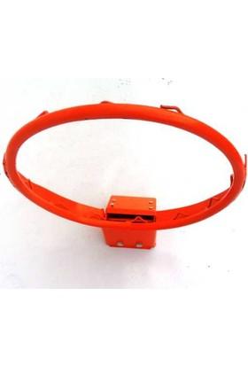 Basketbol Çemberi Esneyen Hidrolik Kancalı 45 cm, 4 mm Floş İp File Hediyeli, Kancalı Ağ Bağlantısı