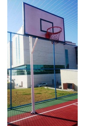 adelinspor Basketbol Potası Tek Direk 114/4 Bo.105*180 2 Mm Sac Panya