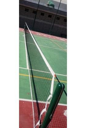 adelinspor Gold Tenis Filesi(Ağı) Dört Tarafı Brandalı Çelik Halatlı