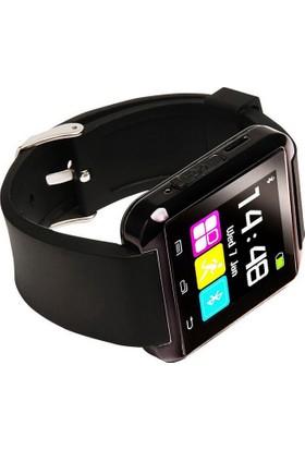 Smartwatch To Termotre-Altimetre-Barometreli Akıllı Saat Siyah