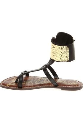 Sam Edelman Black Vaquero Saddle C6078L1001 Genette Kadın Sandalet Siyah
