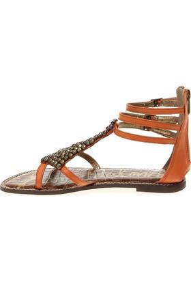 Sam Edelman Cletine Aster Soft 37620Lg801 Ginger Kadın Sandalet Kahverengi