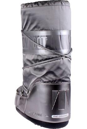 Moon Boot 14016800-002 Glance Silver Kadın Bot Gümüş