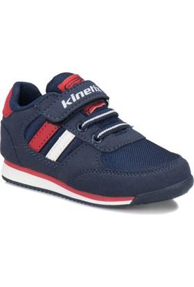Kinetix Tramor Lacivert Kırmızı Beyaz Erkek Çocuk Sneaker