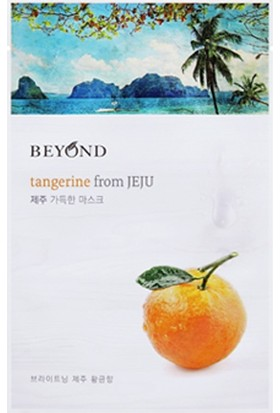 Beyond Mask From Jeju - Tangerine 1 adet