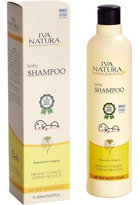 Iva Natura Organik Sertifikalı Bebek Şampuanı 400 ml.