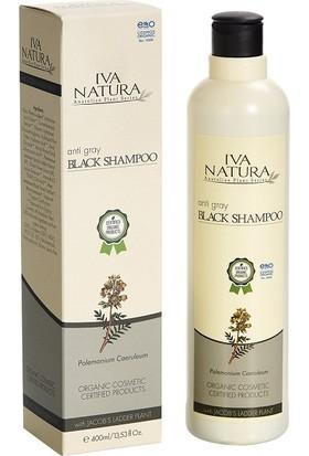 Iva Natura Organik Sertifikalı Beyaz Karşıtı Siyah Şampuan 400 ml.