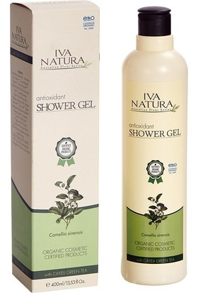 Iva Natura Organik Sertifikalı Antioksidan Etkili Duş Jeli 400 ml.
