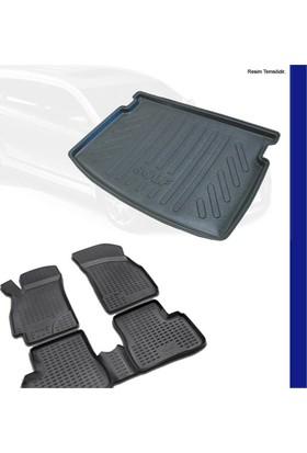Ford Focus 3 Sedan Bagaj Havuzu (İnce Stepne) & 3D Paspas 2011-14