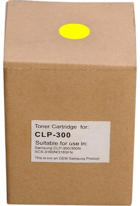 Samsung CLP-Y300A Sarı Ion toner
