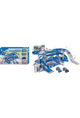 Transformers Polis Merkezi Otopark Seti