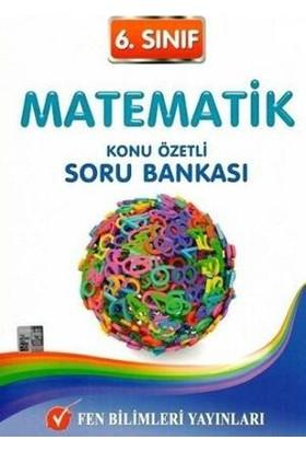 Fen Bilimleri Yayınları 6. Sınıf Matematik Konu Özetli Soru Bankası