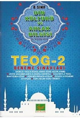 Özgül Yayınları 8. Sınıf Teog 2 Din Kültürü Ve Ahlak Bilgisi Deneme Sınavları