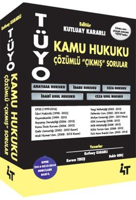 4T Yayınları Tüyo Kamu Hukuku Çözümlü Çıkmış Sorular - Bekir Genç
