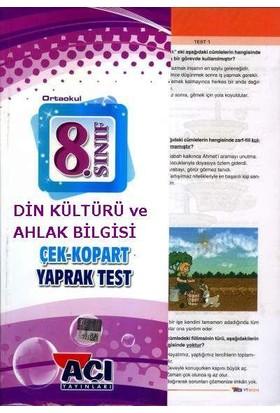 Açı Yayınları 8.Sınıf Çek Kopart Din Kültürü Yaprak Test