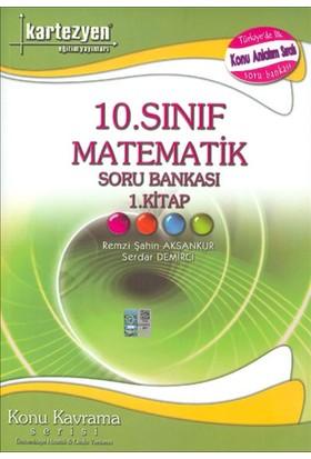 Kartezyen Yayınları 10. Sınıf Matematik Soru Bankası 1.Kitap