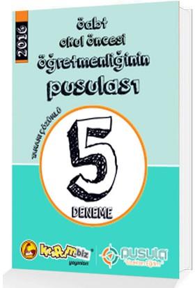 Kitapcim.Biz Yayınları 2016 Öabt Okul Öncesi Öğretmenliğinin Pusulası