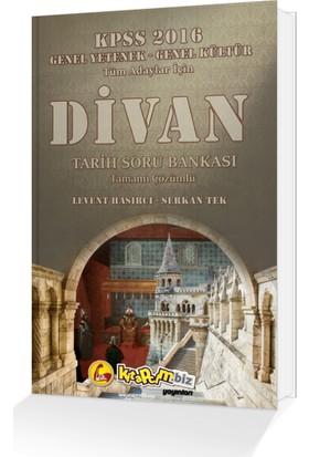 Kitapcim.Biz Yayınları Divan Tarih Soru Bankası (Tamamı Çözümlü)