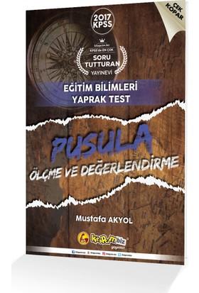 Kitapcim.Biz Yayınları 2017 Kpss Pusula Ölçme Değerlendirme Çek Kopar Yaprak Test
