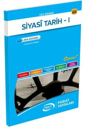 Murat Yayınları 1. Sınıf 1. Yarıyıl Siyasi Tarih - I (Kod 5029)