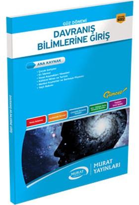 Murat Yayınları Davranış Bilimlerine Giriş Kod:9002