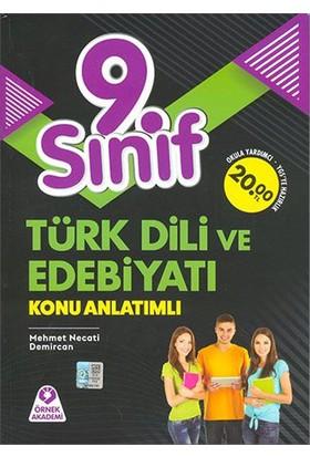 Örnek Akademi Yayınları 9.Sınıf Türk Dili Ve Edebiyatı Konu Anlatımlı