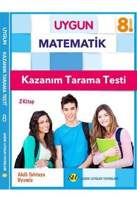 Sadık Uygun Yayınları 8.Sınıf Matematik Kazanım Tarama Testi