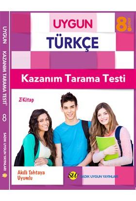 Sadık Uygun Yayınları 8.Sınıf Türkçe Kazanım Tarama Testi