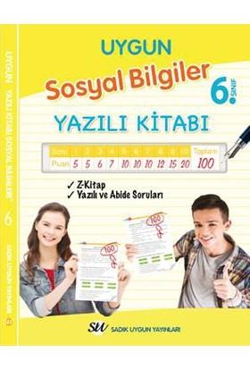 Sadık Uygun Yayınları 6.Sınıf Sosyal Bilgiler Yazılı Kitabı
