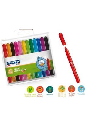 Gıpta Keçeli Kalem 12 Renk