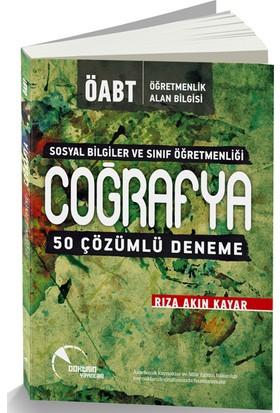 Doktirin Yayınları 2016 Öabt Sosyal Bilgiler Ve Sınıf Öğretmenliği İçin Coğrafya Çözümlü 50 Deneme Sınavı