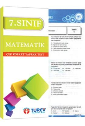 Türev Yayınları 7. Sınıf Matematik Çek Kopart Test
