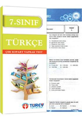 Türev Yayınları 7. Sınıf Türkçe Çek Kopart Test