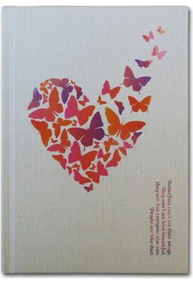 Herbiseey Butterflies Can'T See Defter (80 Yaprak, 14 x 20 cm)