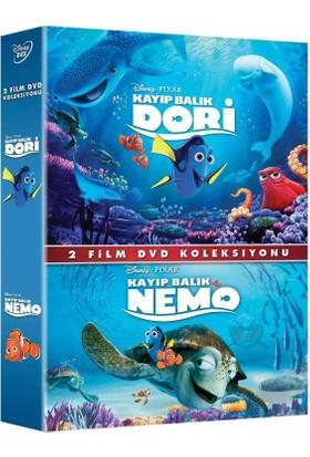Kayıp Balık Dori + Kayıp Balık Nemo - 2 Film Koleksiyon (Dvd)