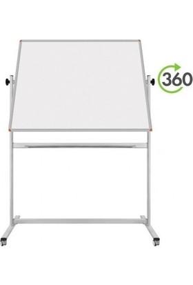 Garanti 120X200 Mobil Çift Taraflı Yazı Tahtası
