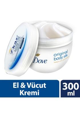 Dove El Ve Vücut Kremi Orıgınal Body Sılk 300 ml