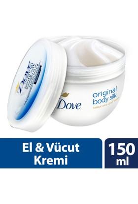 Dove El Ve Vücut Kremi Orıgınal Body Sılk 150 ml