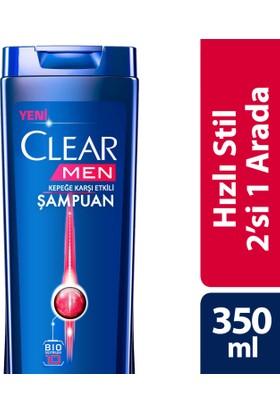 Clear Şampuan Hızlı Stil 2 Si 1 Arada 350 ml