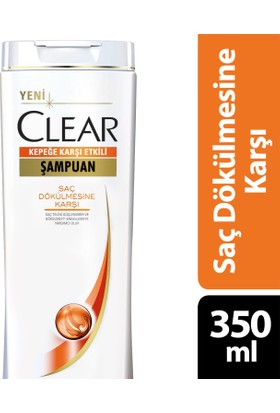 Clear Şampuan Saç Dökülmesine Karşı 350 ml