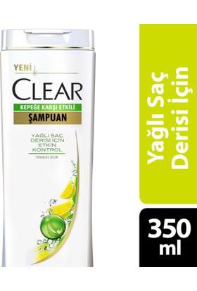 Clear Şampuan Yağlı Saç Derisi İçin Etkin Koruma 350 ml