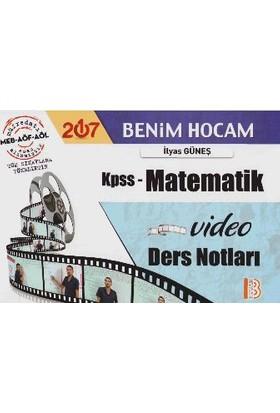 Benim Hocam Yayınları Kpss 2017 Matematik Video Ders Notları
