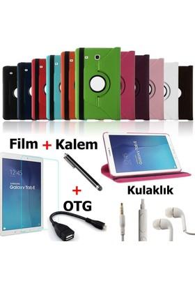 Mustek apple iPad Air 2 360 Dönerli Tablet Kılıf+Film+Kalem+Otg Kablo+Kulaklık