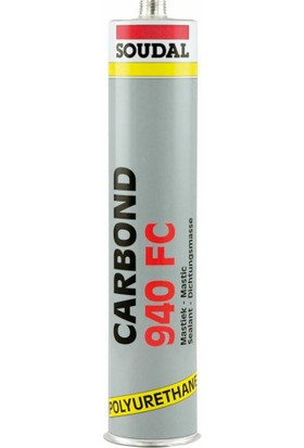 Soudal Carbond 940Fc Poliüretan Mastik 280 Ml. Siyah