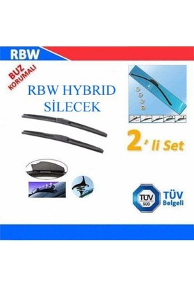 Rbw Hybrid Hyundai Getz 2002-2009 Arası Ön Silecek Tk.