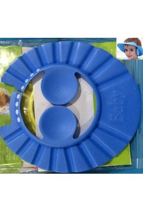 Fdm Bebek Banyo Şapkası -Düğmeli Kulaklıklı