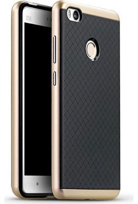 Case 4U Xiaomi Mi 4C Hybrid Korumalı İnce Arka Kapak Altın