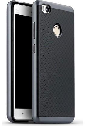 Case 4U Xiaomi Mi 4C Hybrid Korumalı İnce Arka Kapak Gri