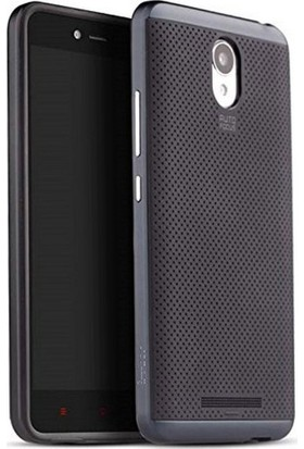 Case 4U Xiaomi Redmi Note 3 Hybrid Korumalı İnce Arka Kapak Gri*