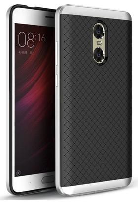 Case 4U Xiaomi Redmi Pro Hybrid Korumalı İnce Arka Kapak Gümüş